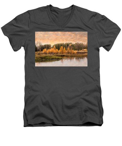 Tamarack Buck Men's V-Neck T-Shirt