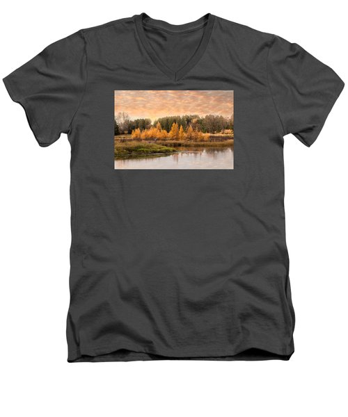 Tamarack Buck Men's V-Neck T-Shirt