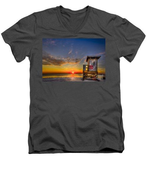 No Life Guard On Duty Men's V-Neck T-Shirt