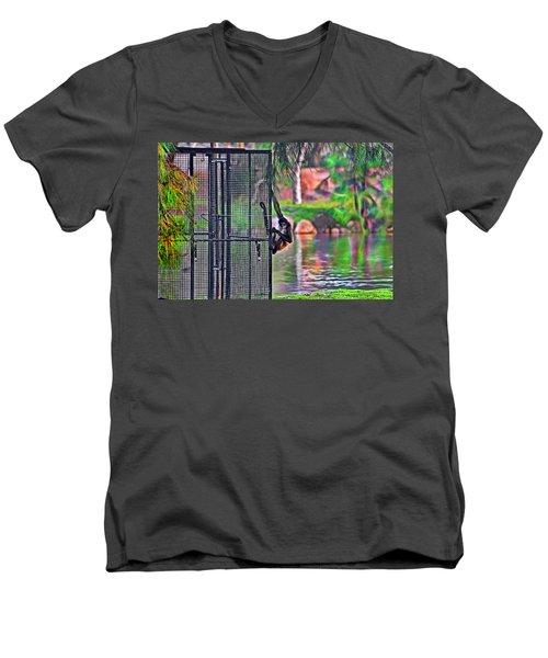No Prison For Me  Men's V-Neck T-Shirt