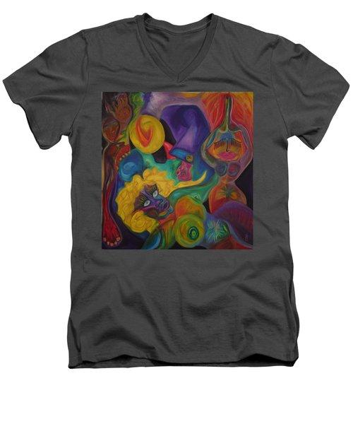 No Titel Men's V-Neck T-Shirt