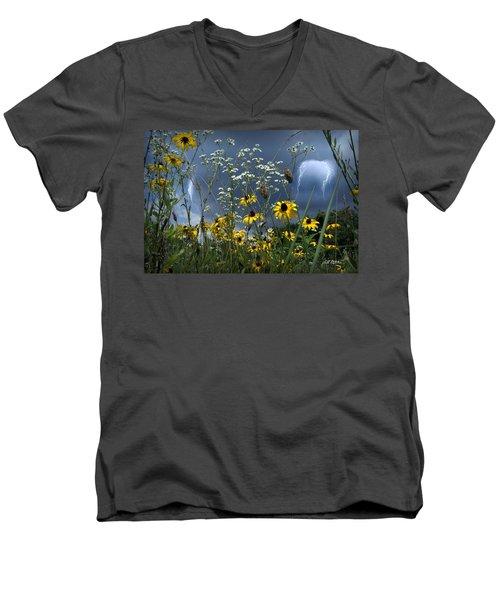 No Vase Needed Men's V-Neck T-Shirt