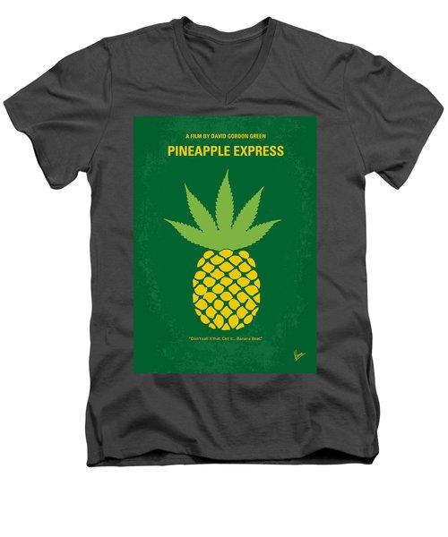 No264 My Pineapple Express Minimal Movie Poster Men's V-Neck T-Shirt
