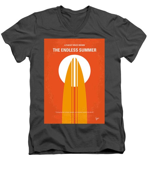 No274 My The Endless Summer Minimal Movie Poster Men's V-Neck T-Shirt