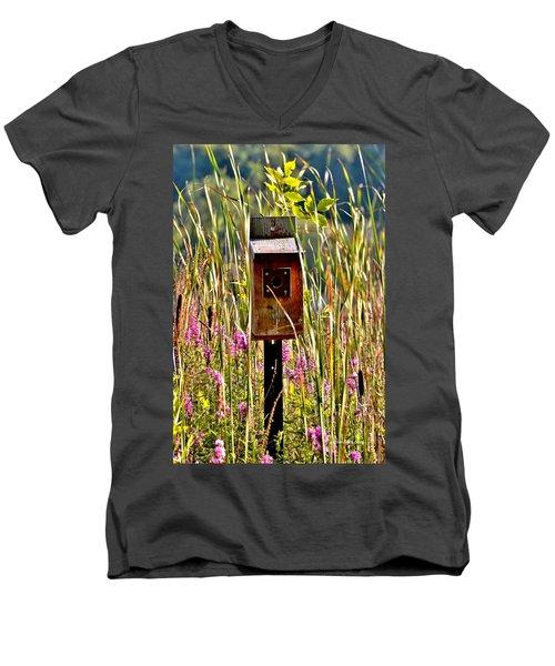 Nobody's Home Men's V-Neck T-Shirt