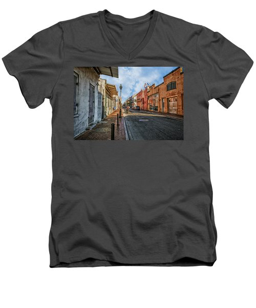 Nola French Quarter Men's V-Neck T-Shirt