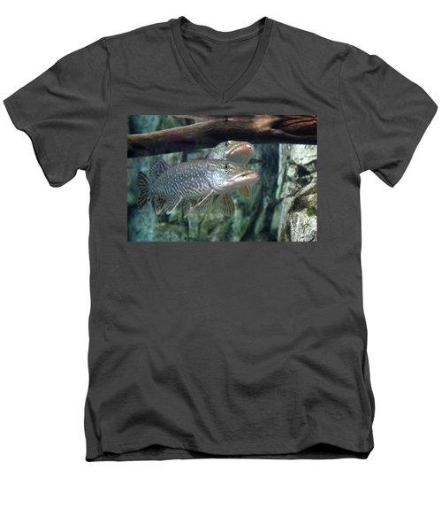 Northern Pike Men's V-Neck T-Shirt