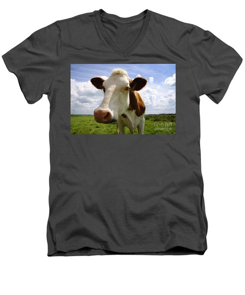 Nosy Cow Men's V-Neck T-Shirt