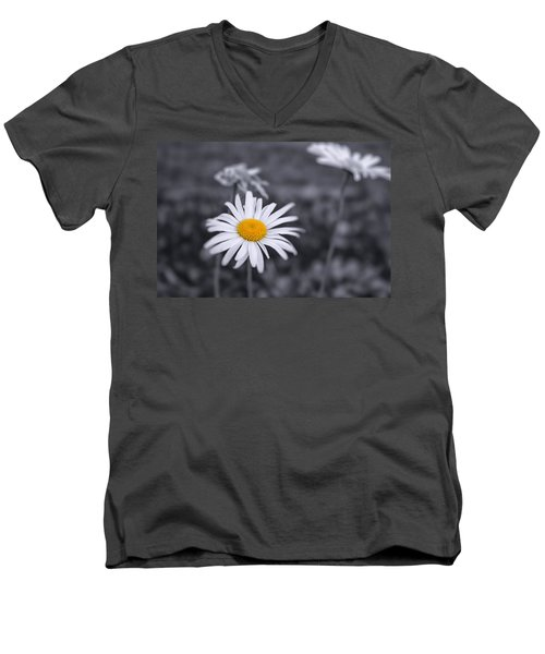 November Daisy Men's V-Neck T-Shirt