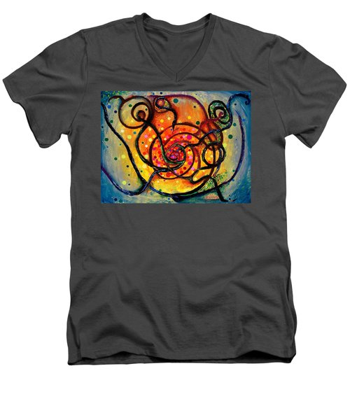 Nuclear Fusion Men's V-Neck T-Shirt