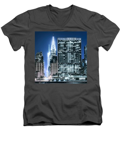 Ny Sights Men's V-Neck T-Shirt