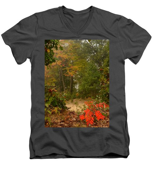 Oak Openings  Men's V-Neck T-Shirt