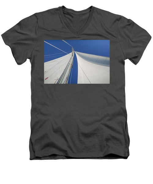 Obsession Sails 1 Men's V-Neck T-Shirt