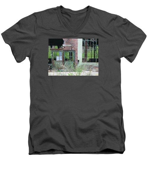 Obsolete Men's V-Neck T-Shirt by Ann Horn