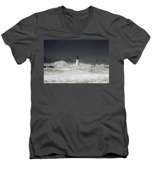 Ocean A Fury Men's V-Neck T-Shirt