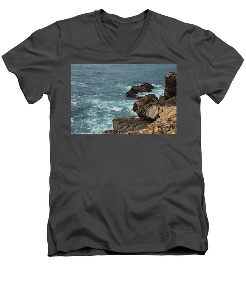 Ocean Below Men's V-Neck T-Shirt