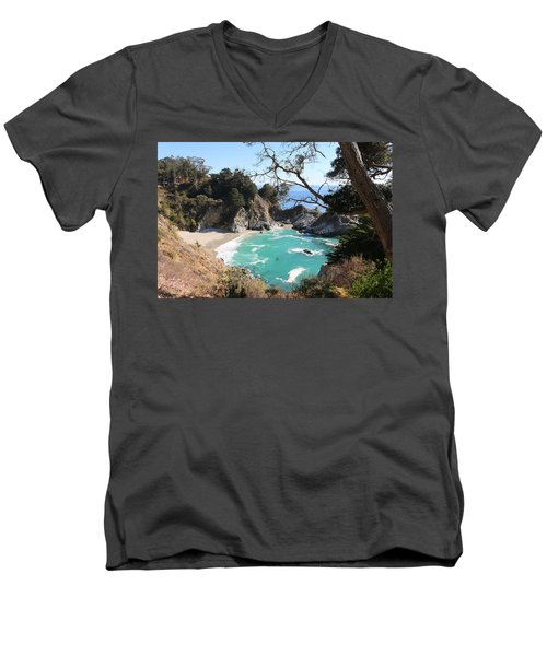 Ocean Bliss Men's V-Neck T-Shirt