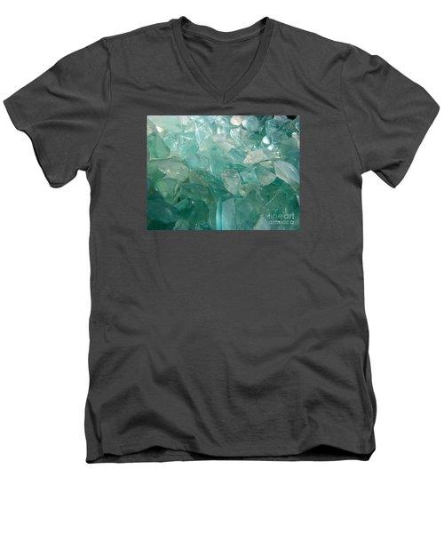 Ocean Dream Men's V-Neck T-Shirt by Kristine Nora