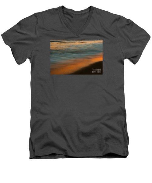 Wave Impressions  Men's V-Neck T-Shirt