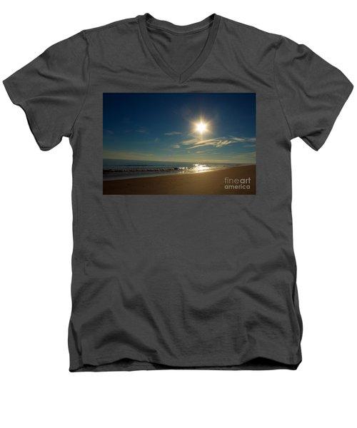 Ocean Isle Beach Sunshine Men's V-Neck T-Shirt