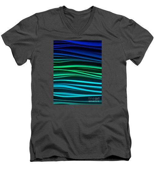 Men's V-Neck T-Shirt featuring the photograph Ocean by Ranjini Kandasamy