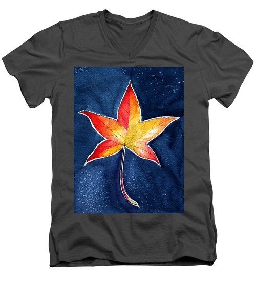 October Night Men's V-Neck T-Shirt