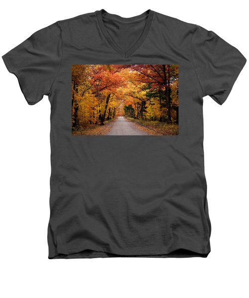 October Road Men's V-Neck T-Shirt