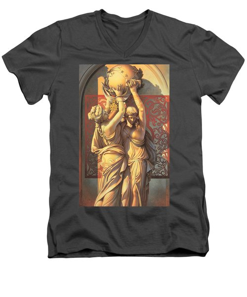 Offering Men's V-Neck T-Shirt