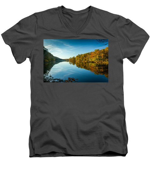 Ogle Lake Men's V-Neck T-Shirt