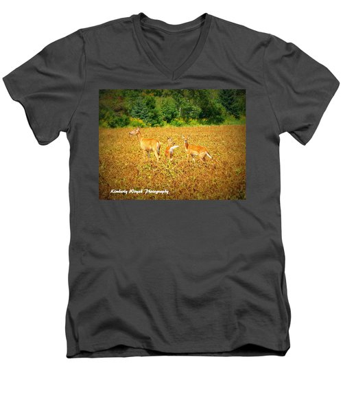 Oh Deer Men's V-Neck T-Shirt