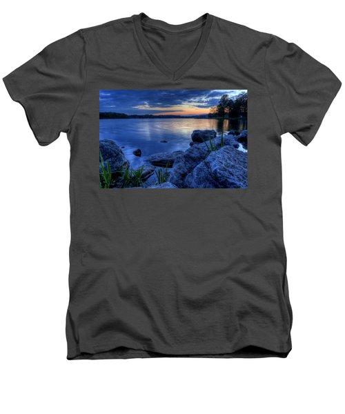 Ohio Spring Sunset Men's V-Neck T-Shirt