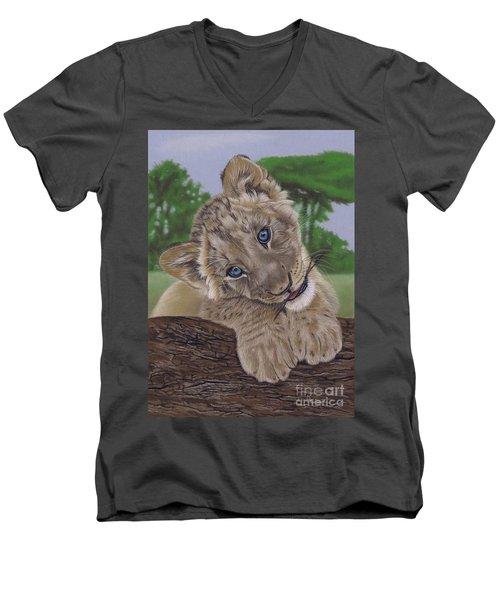 Ol' Blue Eyes Men's V-Neck T-Shirt