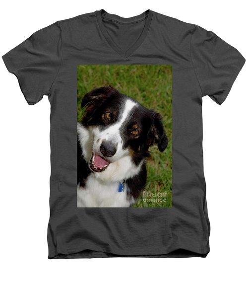 Old Faithful Men's V-Neck T-Shirt