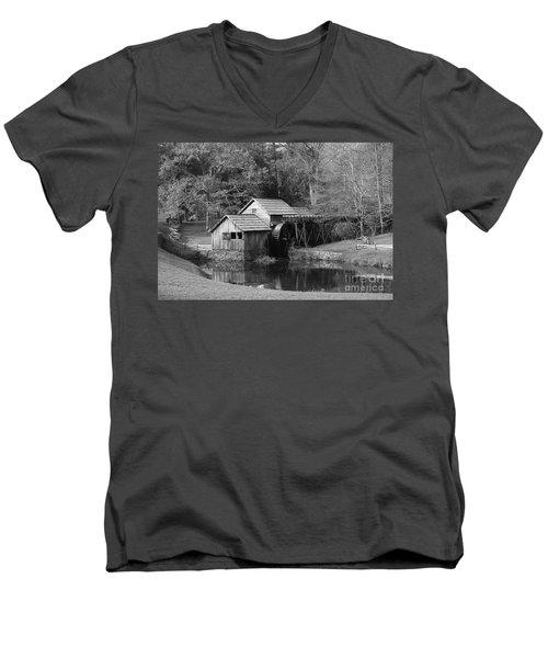 Virginia's Old Mill Men's V-Neck T-Shirt by Eric Liller