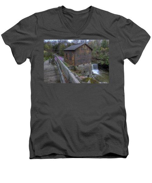 Old Mill Of Idora Park Men's V-Neck T-Shirt