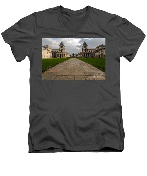 Old Royal Naval College Men's V-Neck T-Shirt