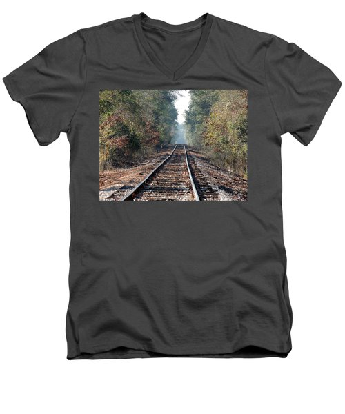 Old Southern Tracks Men's V-Neck T-Shirt