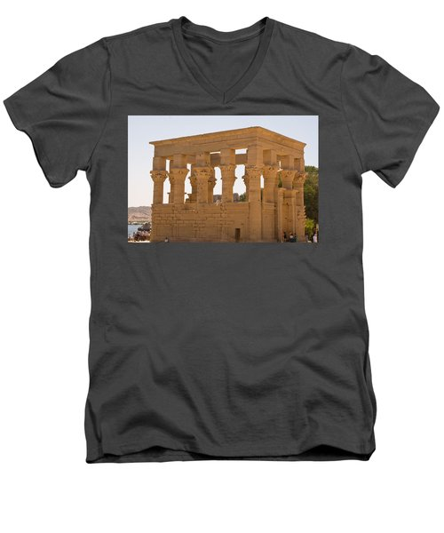 Old Structure 3 Men's V-Neck T-Shirt