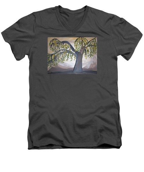Old Willow Men's V-Neck T-Shirt