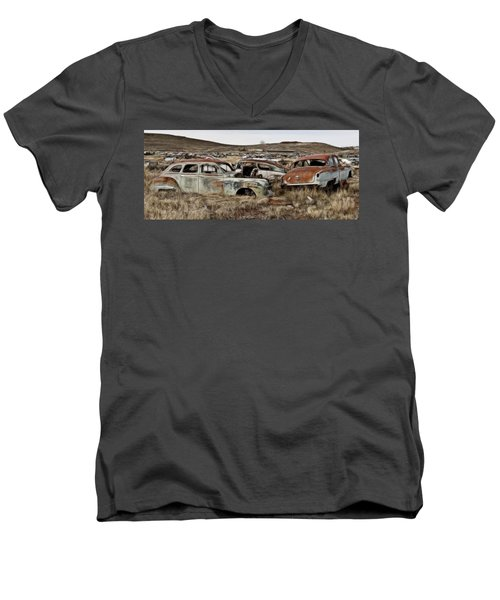 Old Wrecks Men's V-Neck T-Shirt