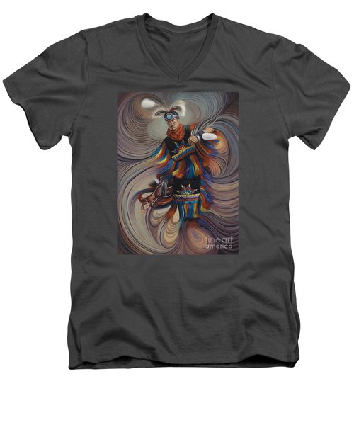 On Sacred Ground Series II Men's V-Neck T-Shirt