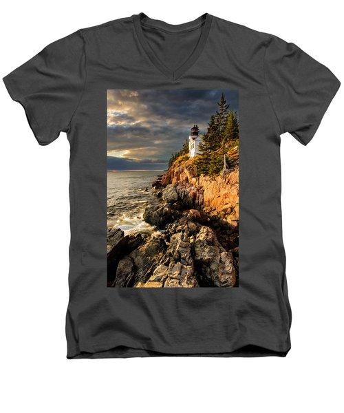 On The Bluff Men's V-Neck T-Shirt