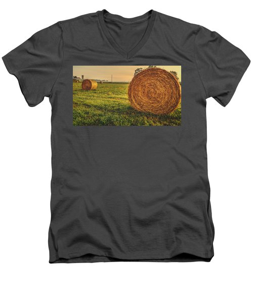 On The Field  Men's V-Neck T-Shirt