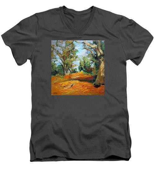 On The Forest Men's V-Neck T-Shirt