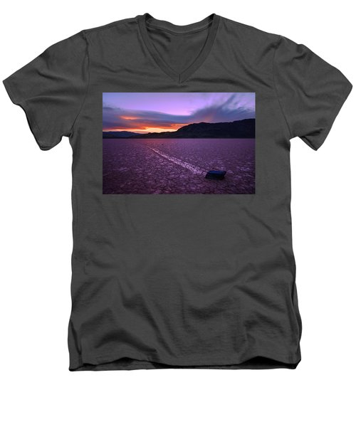 On The Playa Men's V-Neck T-Shirt