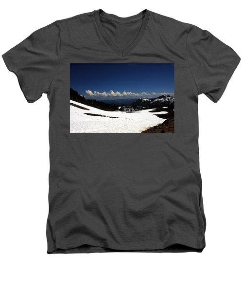 On Top Of Paradise Men's V-Neck T-Shirt