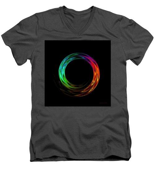 Once Around Men's V-Neck T-Shirt by Judi Suni Hall