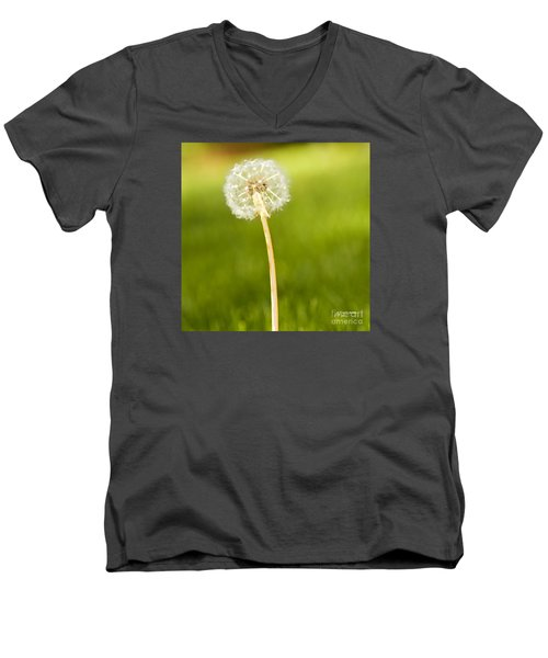 One Wish  Men's V-Neck T-Shirt by Artist and Photographer Laura Wrede