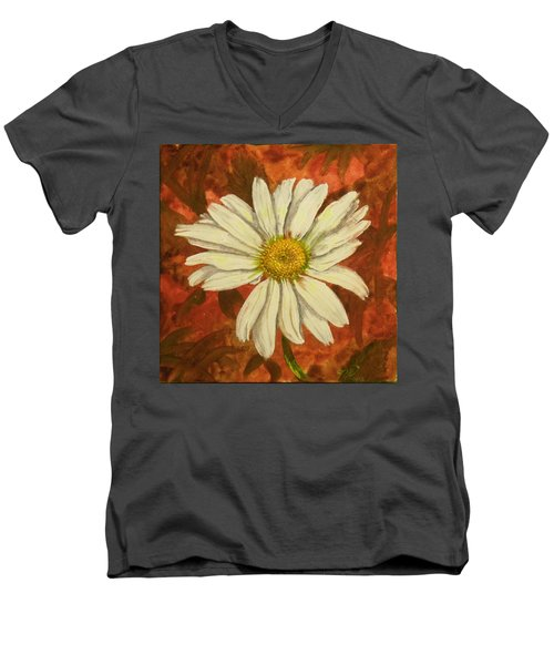 One Yorktown Daisy Men's V-Neck T-Shirt