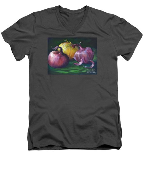 Onions Men's V-Neck T-Shirt